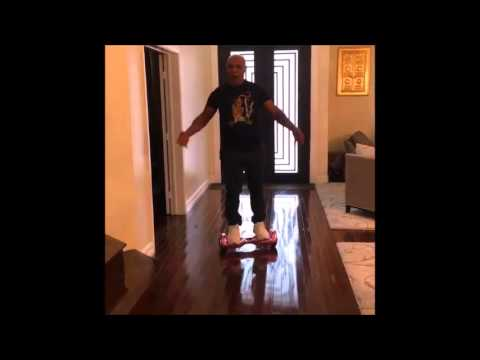 MIKE TYSON FALLS  ON HOOVER BOARD : Former Heavyweight Champion Falls - Ouch! (VIDEO)