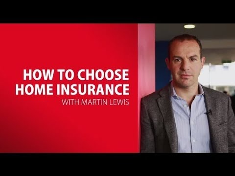 Martin Lewis On How To Choose Home Insurance