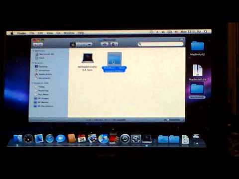How To Install Mac OS X 10.6.3/10.6.8 on Acer Aspire One D255E (All hardware works)