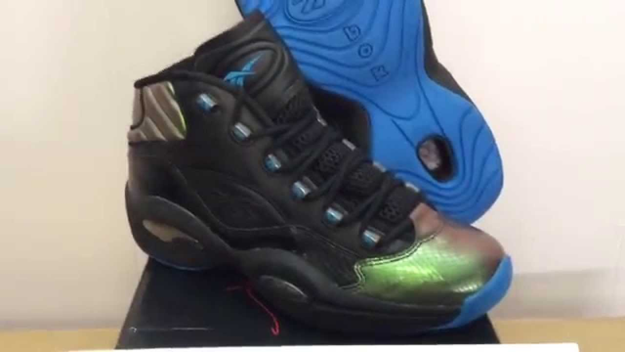 68cf2ce045746f Rare Reebok Question Mid Sample Year of the Snake Irridesce - YouTube
