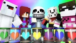 Minecraft Mini-Game : DO NOT LAUGH! (UNDERTALE, CRAB MCGEE!) w/ Facecam