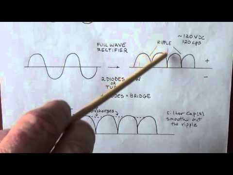 how-amplifiers-work:-rectifiers-and-filter-capacitors