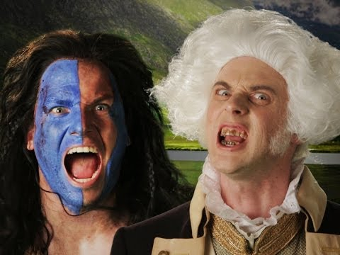 George Washington vs William Wallace.  Epic Rap Battles of History Season 3