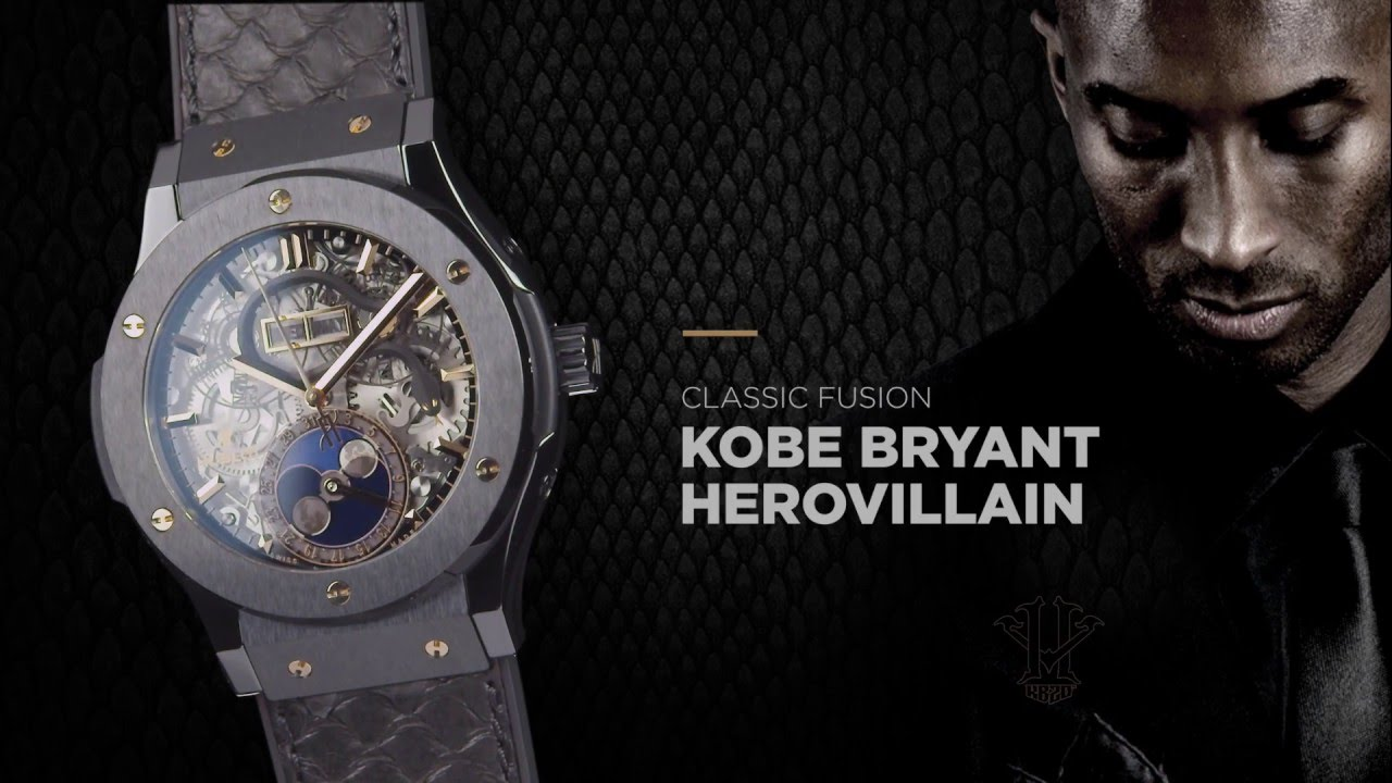 Hublot celebrated the launch of its latest timepiece with Brand Ambassador Kobe  Bryant 25bff5e98755