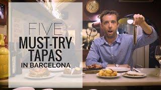 Five Must-Try Tapas in Barcelona | Devour Barcelona