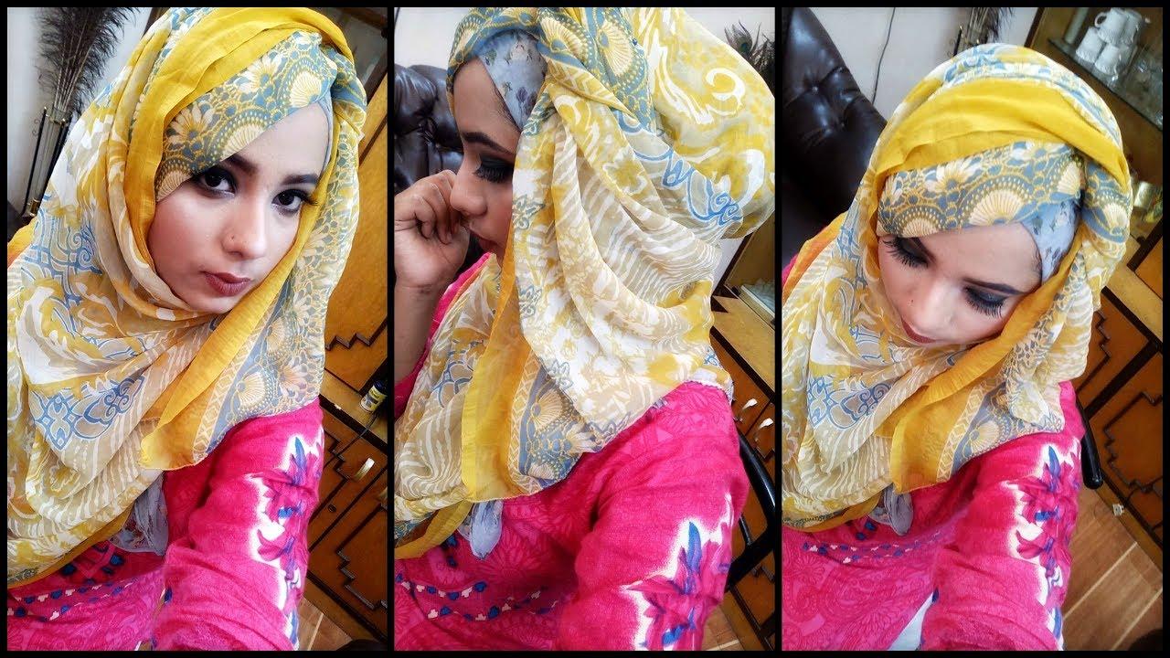 Eid series my hijab tutorial youtube.