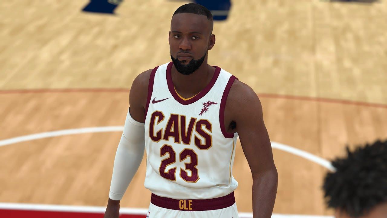 c93e91180eb8 NBA 2K18 - How To Create LeBron James V2 (Player Build Included ...