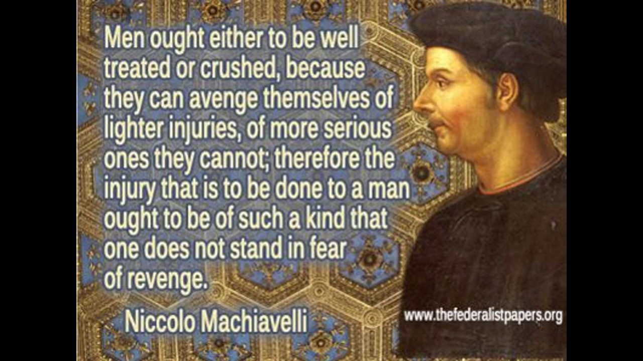 the qualities of the prince by niccolo machiavelli Therefore it is unnecessary for a prince to have all the good qualities i have enumerated, but it is very necessary to appear to have them and i shall dare to say this also, that to have them and always to observe them is injurious, and that to appear to have them is useful to appear merciful, faithful, humane, religious, upright,.