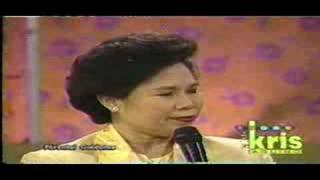 "Miriam in ""Today with Kris"" (part 4/6)"