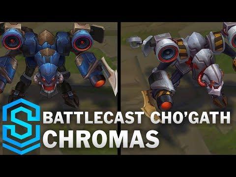 Battlecast Cho'Gath Chroma Skins