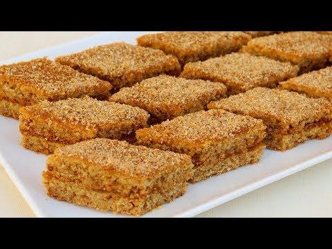 جديد حلوى المقروطة طبقات بالعسل سهلة تجهز في وقت قصير