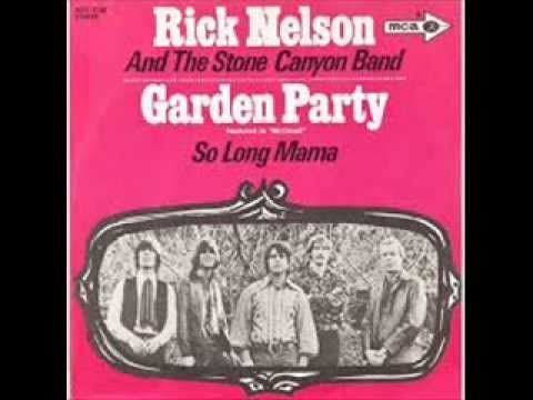 Ricky Nelson Garden Party 1972 Hq Youtube