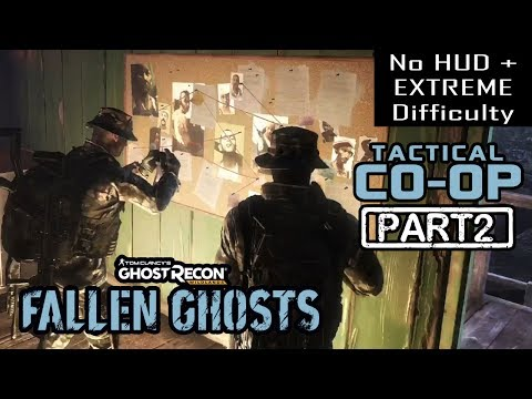 🔴 FALLEN GHOSTS DLC | CO-OP Part 2 | NO HUD + EXTREME DIFFICULTY (Ghost Recon Wildlands)