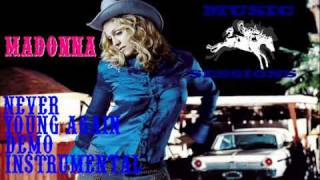 Madonna - Never Young Again (Demo Instrumental)