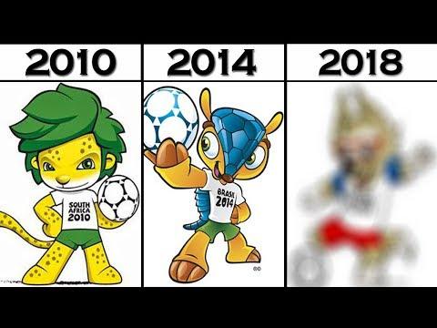 Maskot Piala Dunia 2018 & 7 Maskot Piala Dunia Sebelumnya