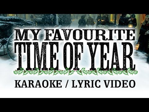 Christmas Karaoke - My Favourite Time of Year - The Florin Street Band Lyric Video
