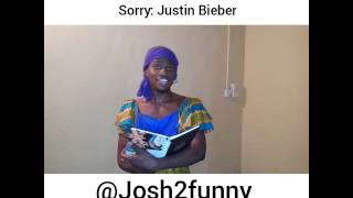JOSH2FUNNY (mama felicia) : the funniest cover for Justin Bieber's 'SORRY'