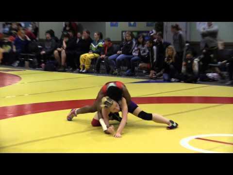 2014 Wesmen Open: 51 kg Kiaya Bergson vs. Masrine Edwards