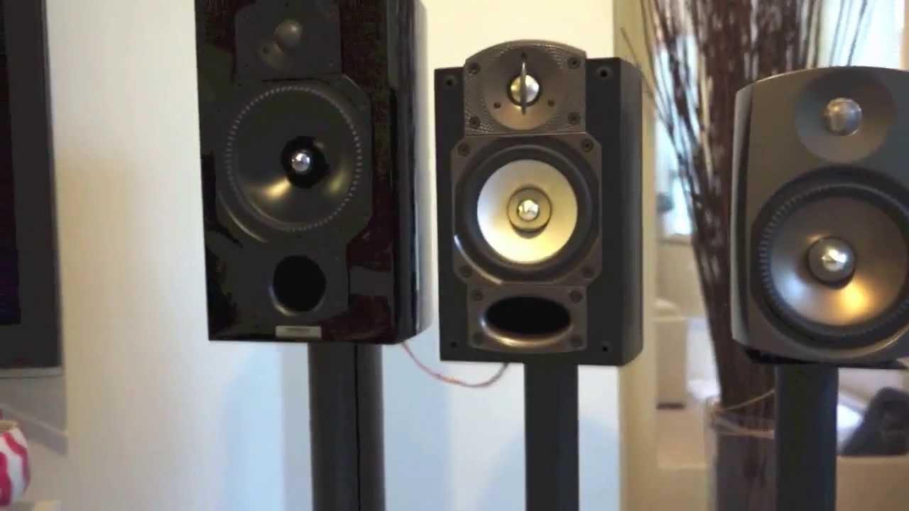 Paradigm Signature S1 V 3, Studio 10 V 5, Inspiration Anniversary speakers