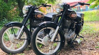 (part 284)Bullet Modified 350 standard and classic!Modified bullet in Punjab !!