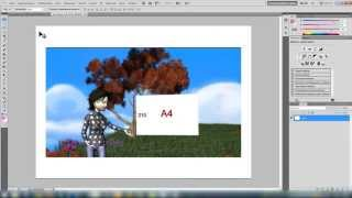 Сделай сам визитку в Adobe Photoshop. Печатать визитки на формате А4(В данном видео я покажу, как разместить визитки стандартных размеров 85Х50мм на листе формата А4 в большом..., 2014-10-31T12:48:19.000Z)