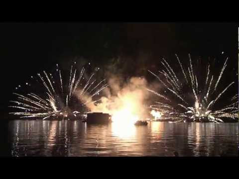 Illuminations Reflections of Earth from VIP Location With Narration by Show Manager at Epcot