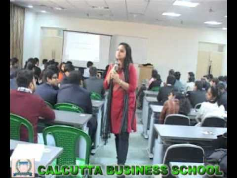 Rashmi Bansal @ ZeRon, Calcutta Business School