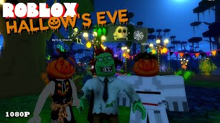 Roblox HALLOW'S EVE EVENT 01 - SINISTER SWAMP & ROBLOXIAN HIGHSCHOOL VIRTUAL REWARDS