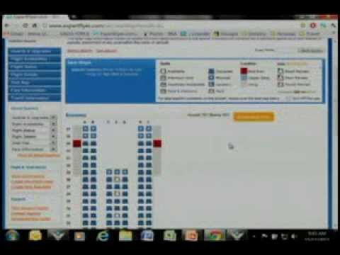 Live Demo of Seat Alerts by ExpertFlyer