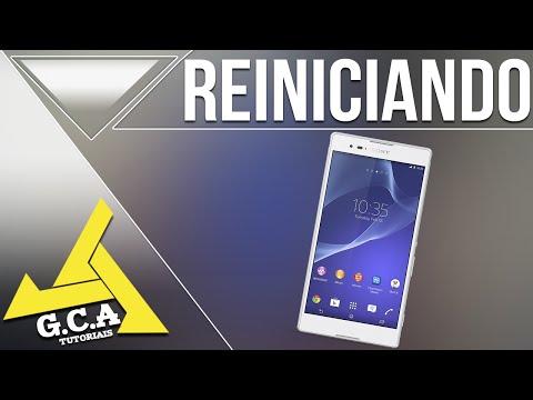 Como Desligar ou Reiniciar o Sony Xperia T2 ultra Dual D5322 - Caso Ele Tenha Travado