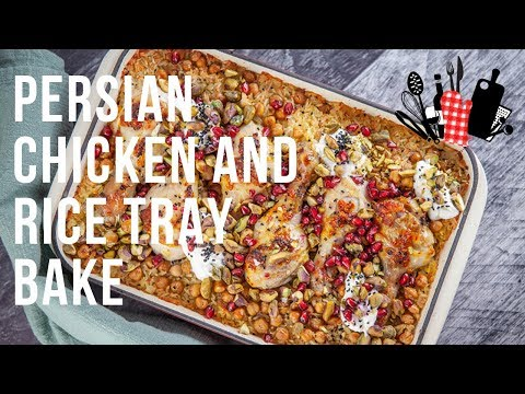 Persian Chicken And Rice Tray Bake    Everyday Gourmet S9 EP30