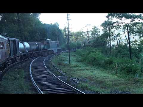 Sri Lanka Railways Mixed Passenger - Freight (Goods) Train