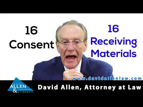 David Allen Legal Tuesday: Law Doesn't Differentiate Consensual Sex and Explicit Material