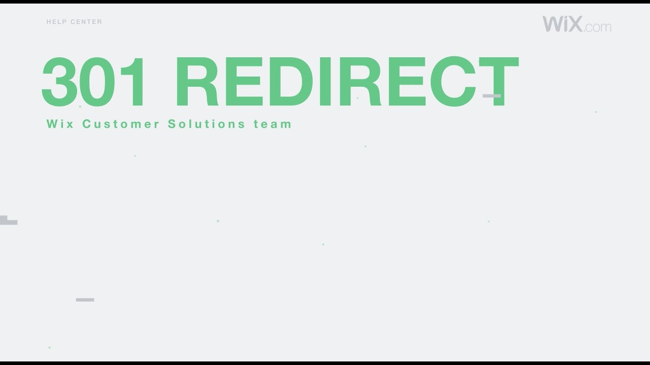 Setting Up 301 Redirects From One URL to Another   Help
