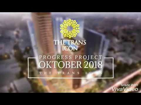 Progress The Trans Icon Surabaya Bulan Oktober 2018