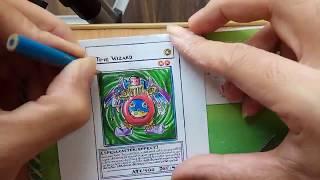 Drawing Yugi-Oh Card - Time  Wizard | Vẽ bài Yugioh - Phù Thủy Thời Gian