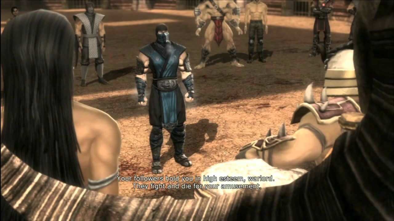 Mk9 Story Mode Chapter 8 Sub Zero Cutscenes Youtube