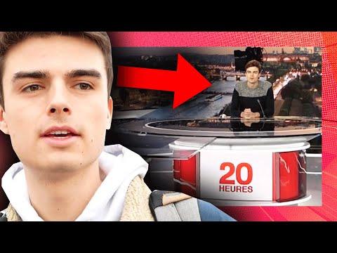 Sur YouTube, HugoDécrypte nous emmène dans les coulisses du JT de France 2