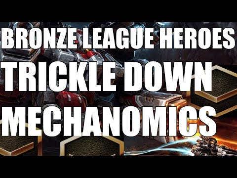 BRONZE LEAGUE HEROES #74 - TRICKLE DOWN MECHANOMICS - Chairman v Psyence