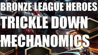 BRONZE LEAGUE HEROES #74 - TRICKLE DOWN MECHANOMICS - Chairman v Psyence