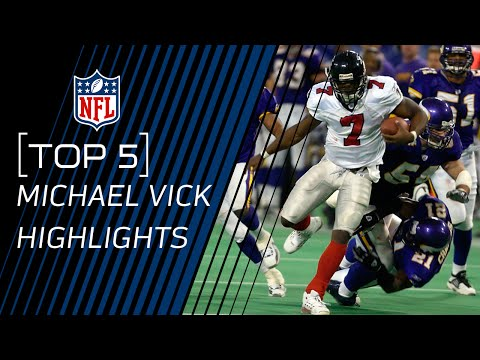 Top 5 Michael Vick Plays | NFL