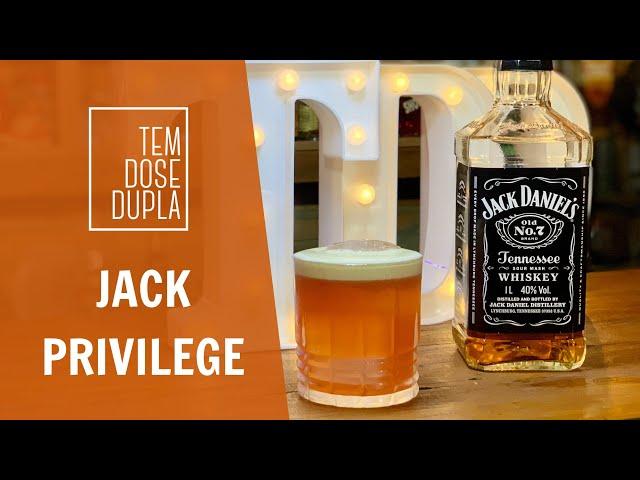 Drink com Jack Daniels - JACK PRIVILEGE