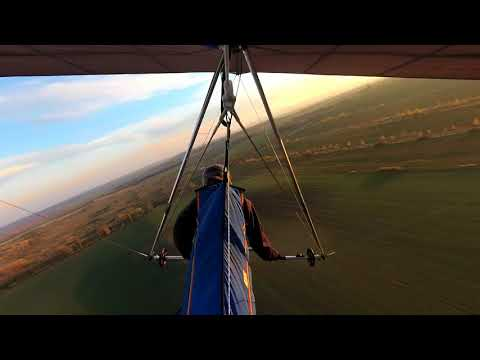 Hang gliding - The broken upright