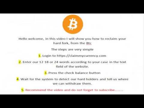 Claim Bitcoin Diamond - HardFork BTC