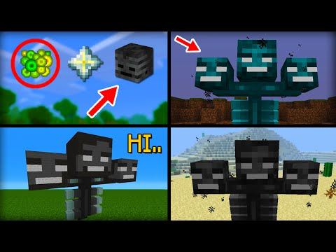 ✔ Minecraft: 15 Things You Didn't Know About the Wither Boss