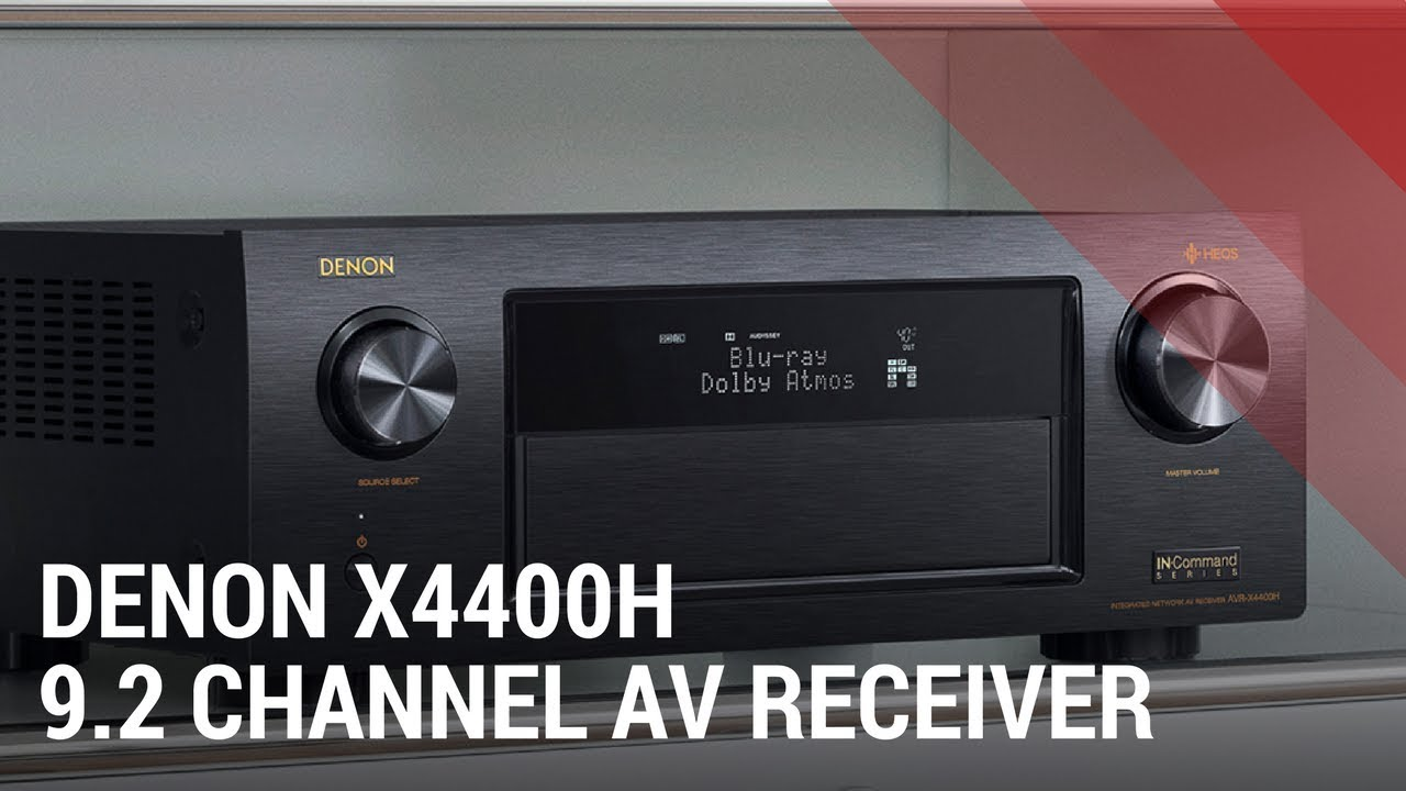 Denon AVR-X4400H 9 2 Channel AV Receiver with HEOS - Quick Review India