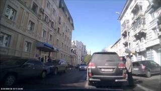 ДТП с участием Валерия Сараева - 27.04.2016