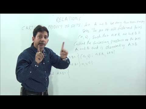 Relations-1 Cartesian Product & Ordered Pair Concept & logic
