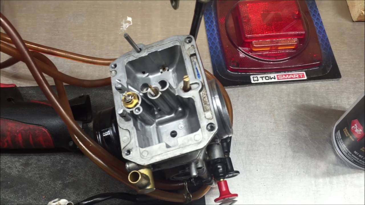 medium resolution of carb cleaning the most over looked part under the float needle demo yz250f