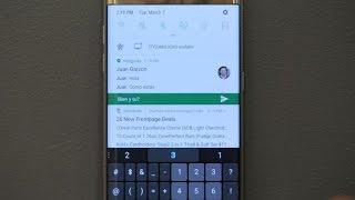 Android Nougat en el Galaxy S7 trae un montón de novedades